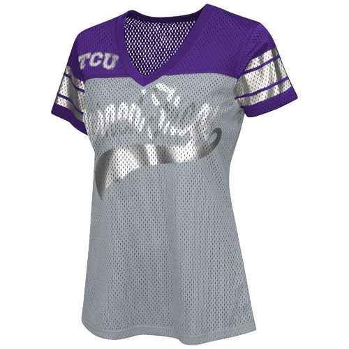 G-III for Her Women's Texas Christian University Pass Rush Fashion Top