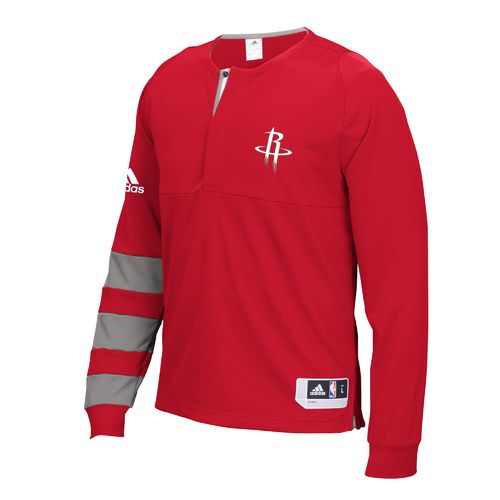 adidas™ Men's Houston Rockets Shooter 1/2 Zip Pullover