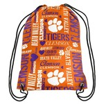 Forever Collectibles™ Women's Clemson University Drawstring Backpack