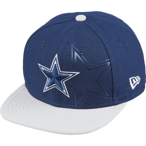 New Era Boys' Dallas Cowboys JR 2-Tone Treasure Snapback Cap