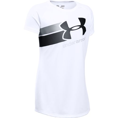Display product reviews for Under Armour Girls' Tech Fast Lane Big Logo T-shirt
