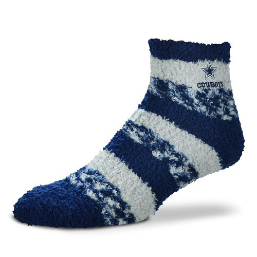FBF Originals Women's Dallas Cowboys Pro Stripe Sleep Soft Socks
