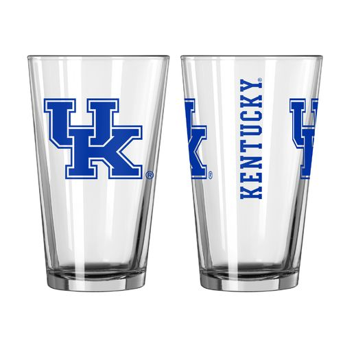 Boelter Brands University of Kentucky Game Day 16 oz. Pint Glasses 2-Pack