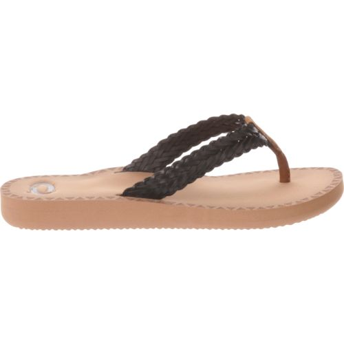 O'Rageous Women's Fishtail Braid Sandals