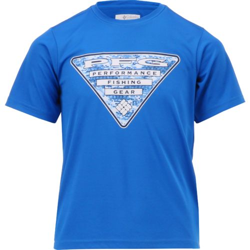 Columbia Sportswear Boys' PFG Triangle DigiCamo T-shirt