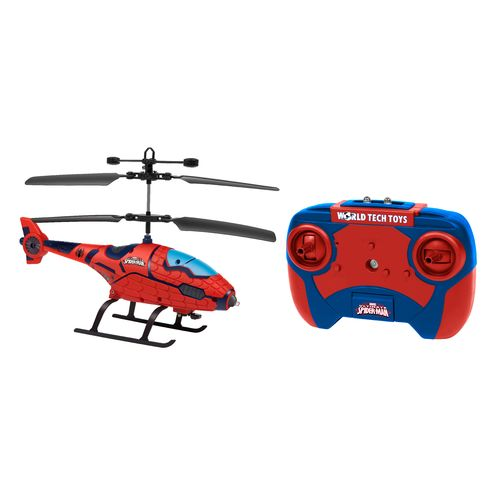 World Tech Toys Marvel Spider-Man Shaped IR Helicopter