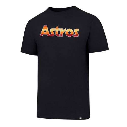 '47 Houston Astros Coops Rainbow Script Club T-shirt