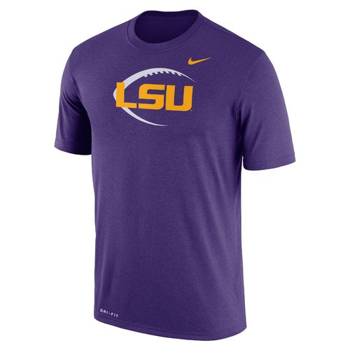 Nike Men's Louisiana State University Dri-FIT Legend Icon 17 T-shirt