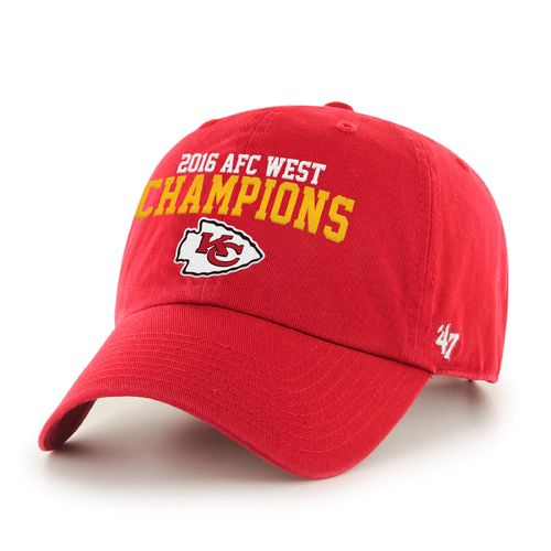 '47 Kansas City Chiefs AFC West Division Champs Clean Up Cap