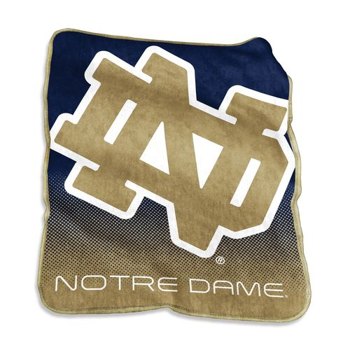 Logo™ University of Notre Dame 50' x 60' Raschel Throw