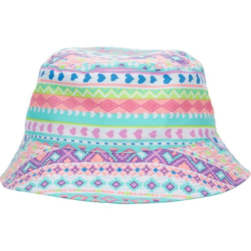 O'Rageous Girls' Reversible Printed Bucket Hat