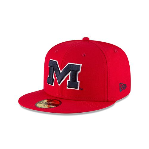 New Era Men's University of Mississippi 59FIFTY Cap