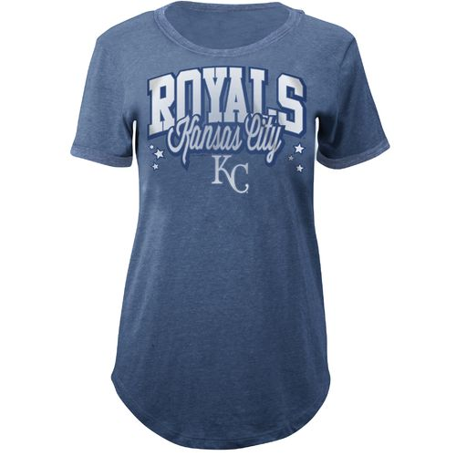 5th & Ocean Clothing Juniors' Kansas City Royals Ringer T-shirt