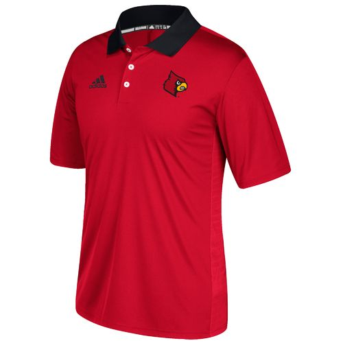 adidas™ Men's University of Louisville Sideline Coaches Polo Shirt