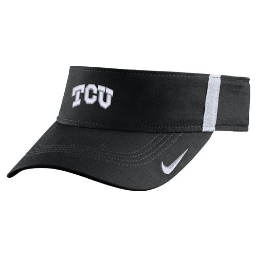 Nike Men's Texas Christian University AeroBill Sideline Visor