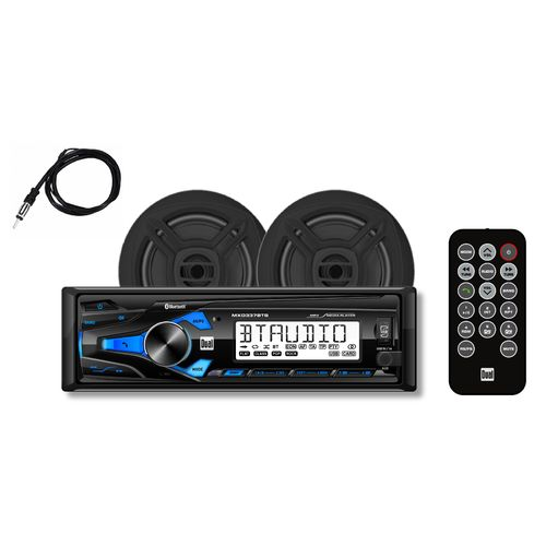 Dual Digital Media Receiver with Bluetooth and Speakers Set