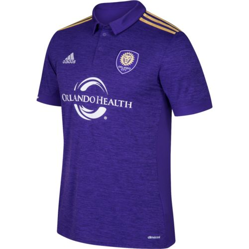 adidas Boys' Orlando City SC Primary Replica Jersey