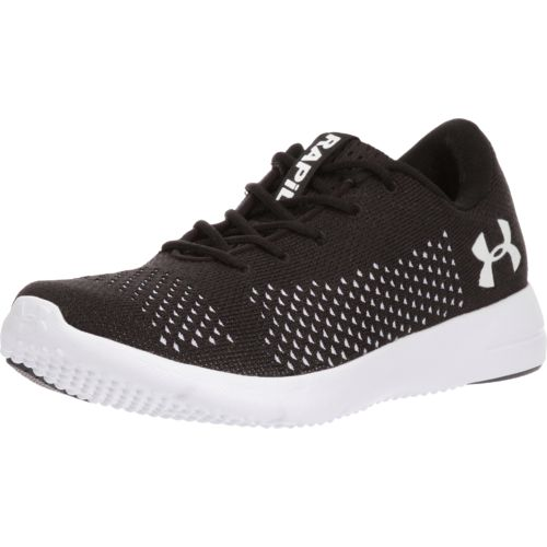 under armour running shoes black and white. under armour women\u0027s rapid running shoes - view number black and white