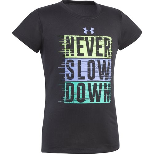Under Armour Girls' Never Slow Down T-shirt