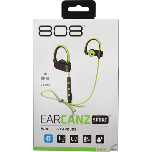 Display product reviews for 808 Audio EAR CANZ Sport Wireless Earbuds