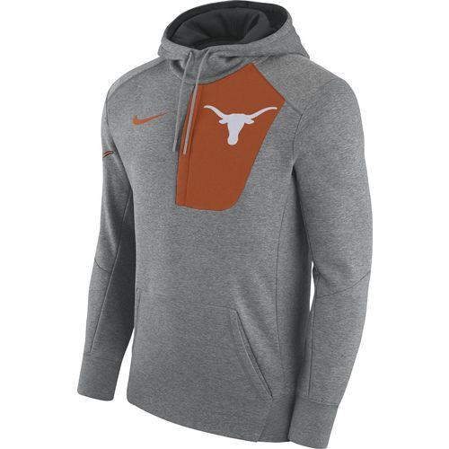 Nike Men's University of Texas Fly Fleece Pullover Hoodie