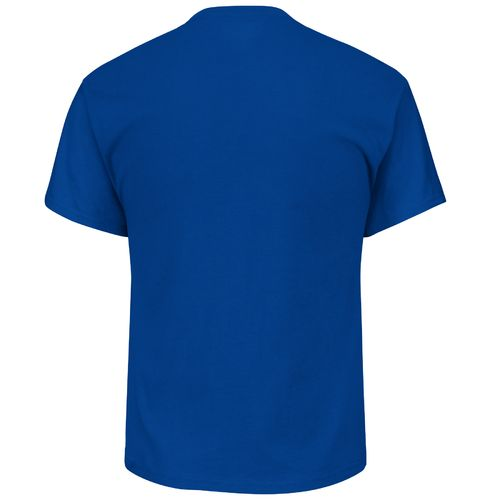 Majestic Men's Los Angeles Dodgers Heart and Soul III Basic Short Sleeve T-shirt - view number 2