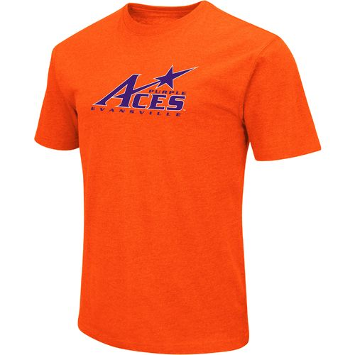 Colosseum Athletics Men's University of Evansville Logo Short Sleeve T-shirt