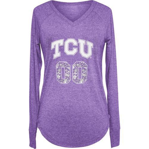 Chicka-d Women's Texas Christian University Favorite Long Sleeve T-shirt