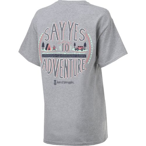 Love & Pineapples Women's Say Yes T-shirt - view number 2