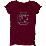 Blue 84 Juniors' University of South Carolina Mascot Soft T-shirt - view number 1