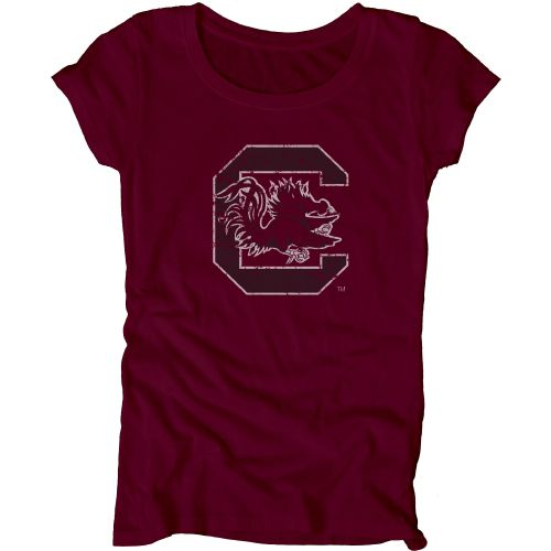 Blue 84 Juniors' University of South Carolina Mascot Soft T-shirt