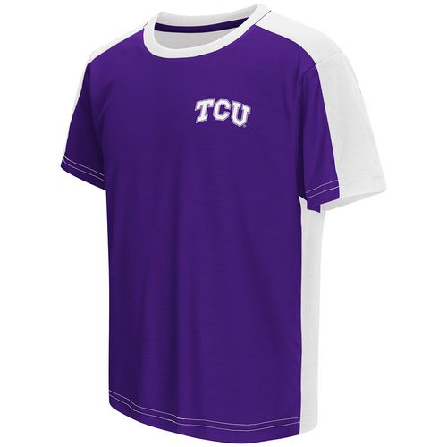 Colosseum Athletics Boys' Texas Christian University Short Sleeve T-shirt