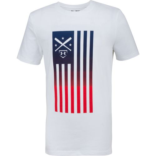 Under Armour Boys' Baseball Americana Short Sleeve T-shirt - view number 1