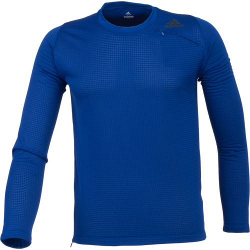 adidas Men's Athlete ID Long Sleeve Cover-Up Pullover - view number 1