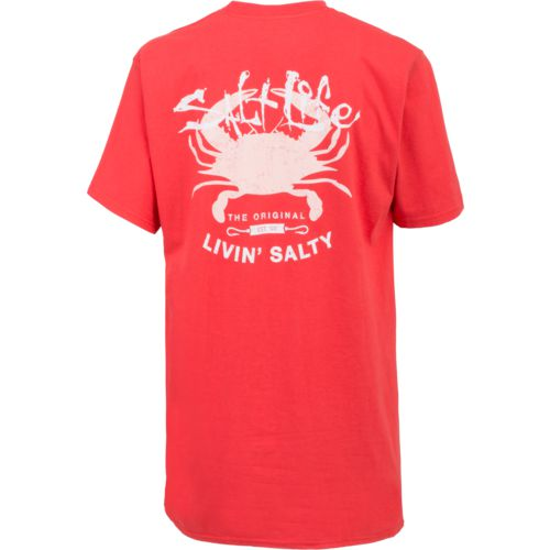 Salt Life Juniors' Big Shot Crab Short Sleeve T-shirt - view number 1