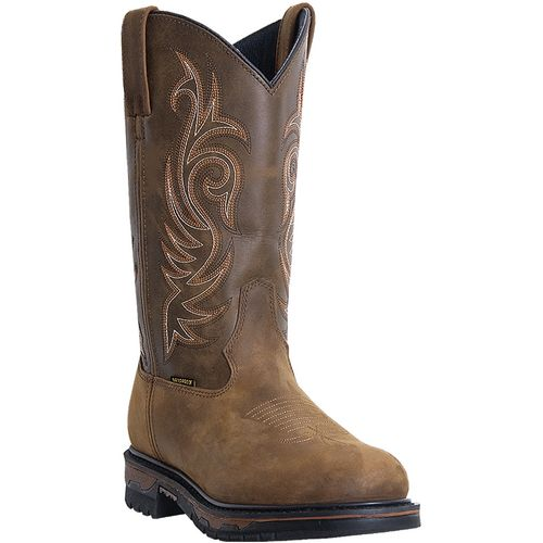 Laredo Men's Hammer Distressed Leather Western Boots