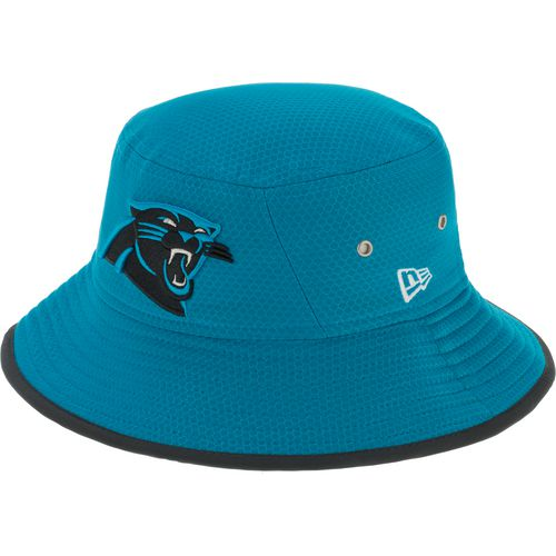 New Era Men's Carolina Panthers Onfield Training Bucket Cap - view number 2