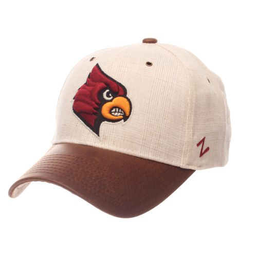 Zephyr Men's University of Louisville Havana Curved Bill 2-Tone Cap