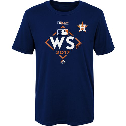 Majestic Preschool Kids Astros World Series Participant T-Shirt