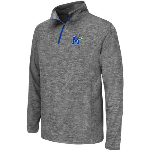 Colosseum Athletics Youth University of Memphis Action Pass 1/4 Zip Wind Shirt