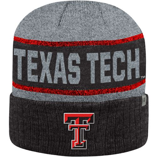 Top of the World Men's Texas Tech University Below Zero Cuff Knit Hat