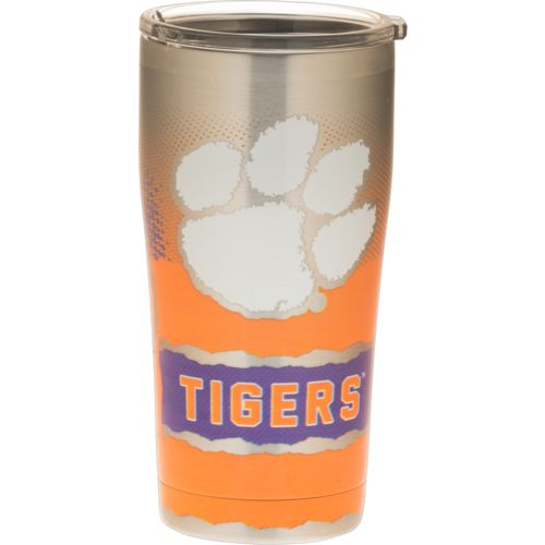 Tervis Clemson University 20 oz Knockout Stainless Steel Tumbler