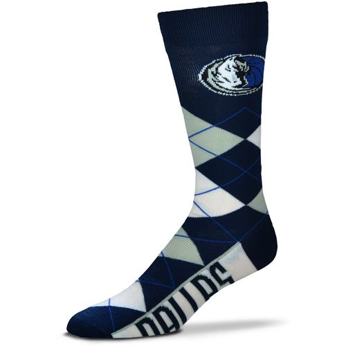 For Bare Feet Dallas Mavericks Argyle Socks