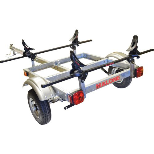 Malone Auto Racks XtraLight Single Kayak SaddleUp Pro Package