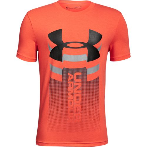 Under Armour Boys' Vertical Logo T-shirt - view number 2