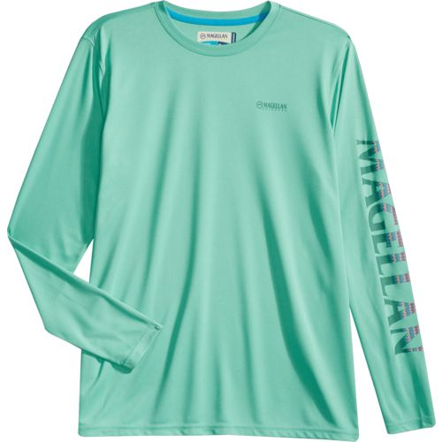 Display product reviews for Magellan Outdoors Women's Caddo Lake Logo Crew Long Sleeve T-shirt