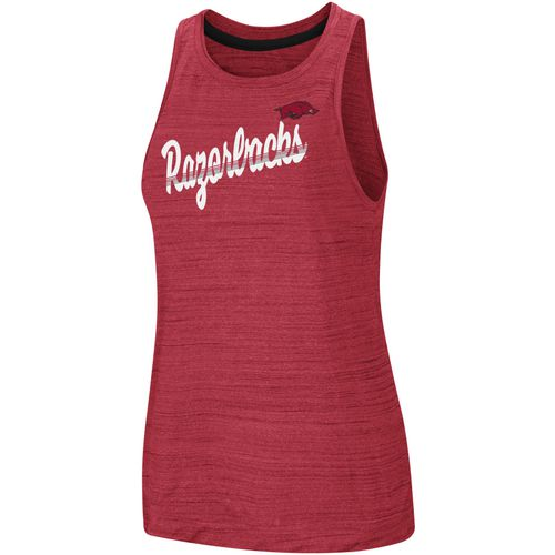 Discount Colosseum Athletics Women's University of Arkansas Kenosha Comets Tank Top for cheap