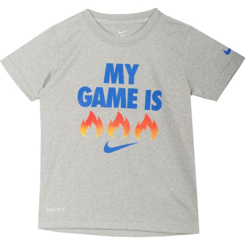 Nike Toddler Boys' My Game Is Fire T-shirt