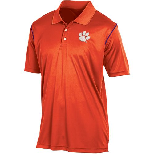 Champion Men's Clemson University Play Clock Polo Shirt