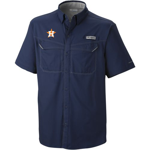 Columbia Sportswear Men's Houston Astros Low Drag Offshore Shirt